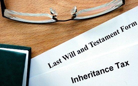 Inheritance tax central London property